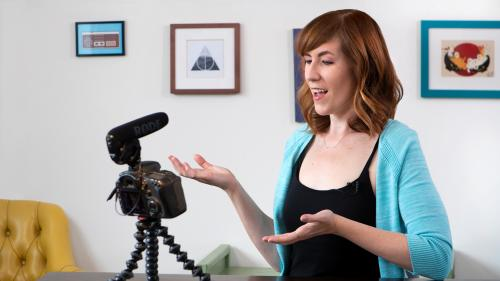 Learning How to Shoot Video at Home