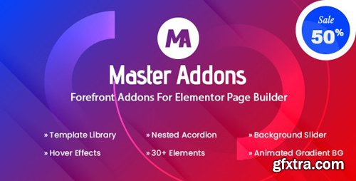 CodeCanyon - Master Addons v1.5.2.1 - Forefront Addons for Elementor - 25029297 - NULLED