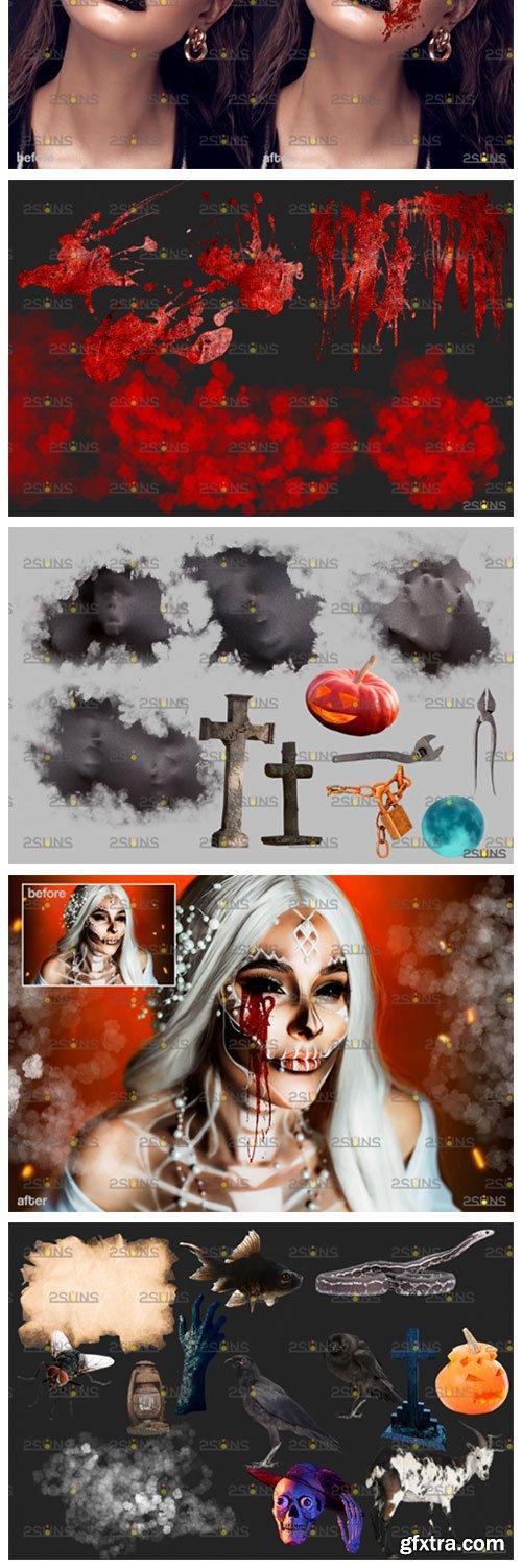 Halloween Clipart & Halloween Overlays 5542419