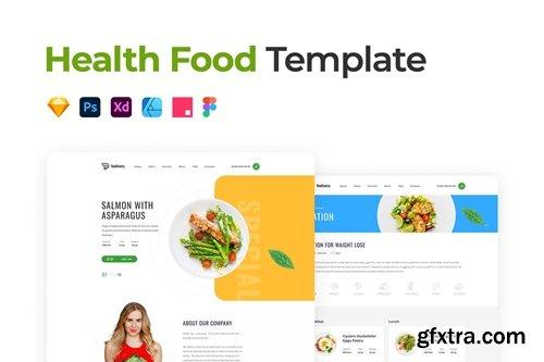 Health Food Template