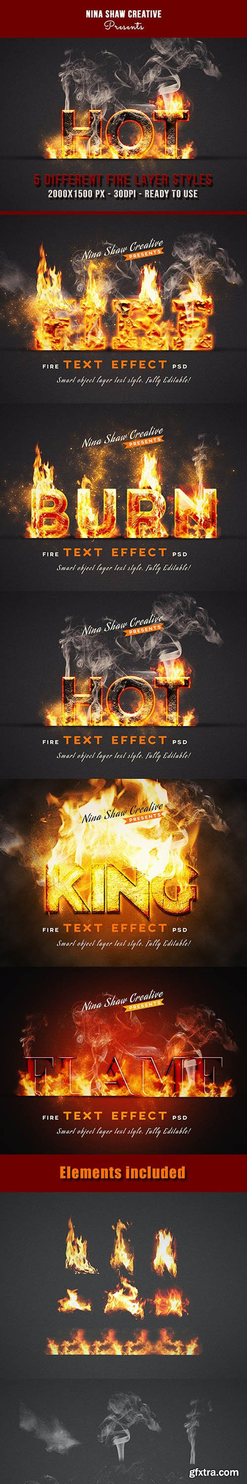 GraphicRiver - Fire Text Effects 27755366