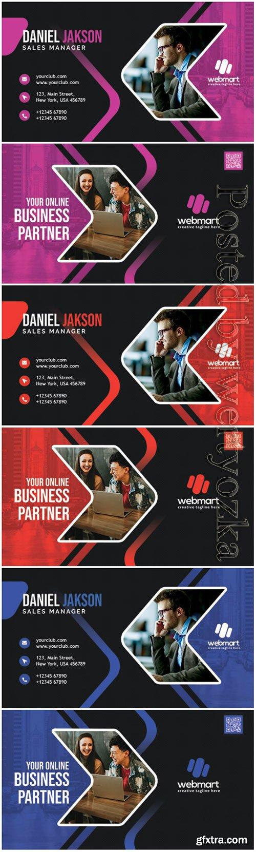 Creative Designer Business Card PSD