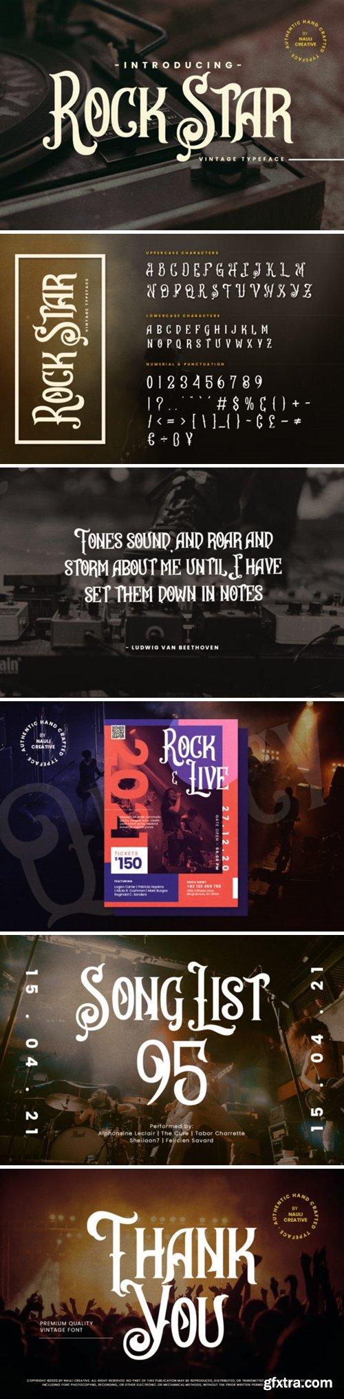 Rock Star Font