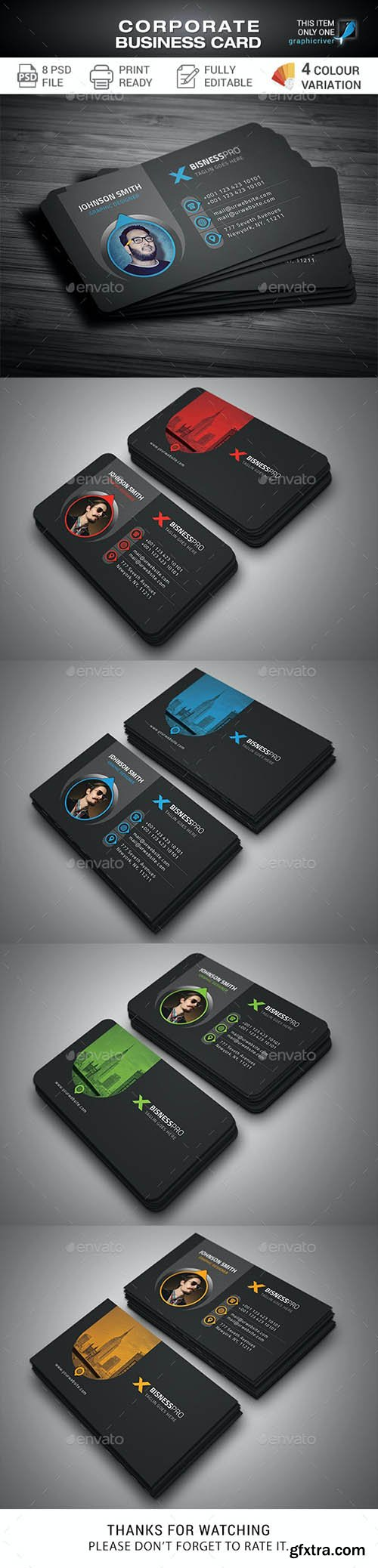 GraphicRiver - Business Cards 28044230