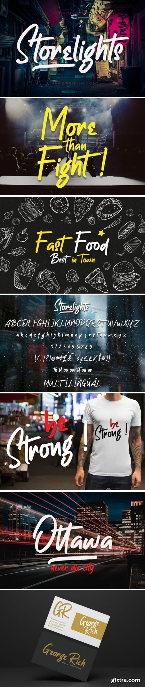 Storelights Font