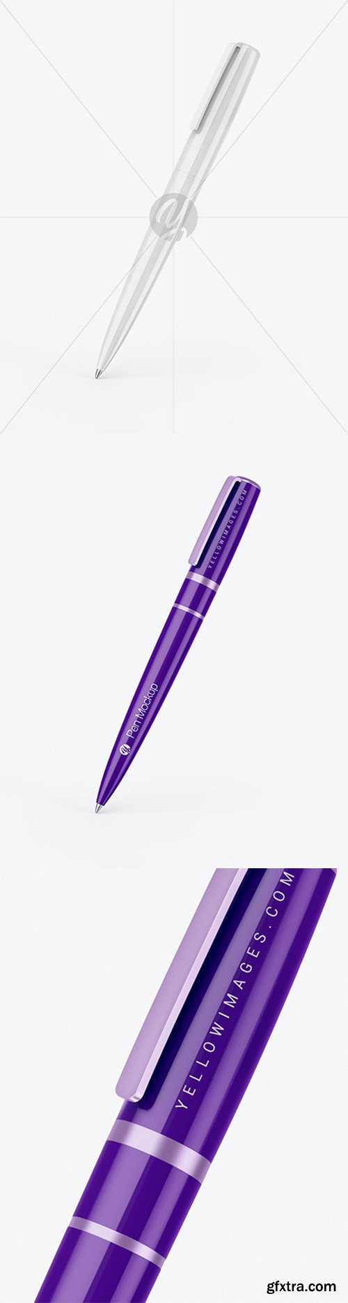 Glossy Pen Mockup 59660