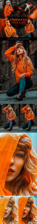 GraphicRiver - Cinematic orange - Photoshop Action 28110099