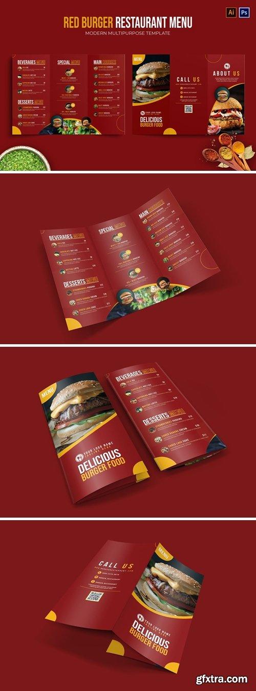 Red Burger - Restaurant Menu
