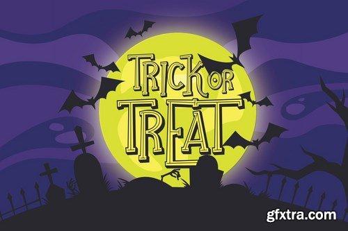 Ghostober Halloween Layered Font