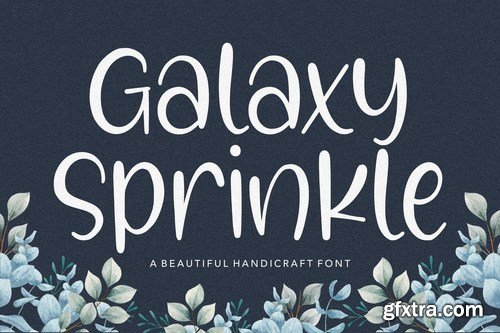 Galaxy Sprinkle YH - Modern Script Font