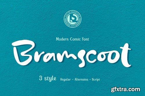 Bramscoot - Modern Display Comic