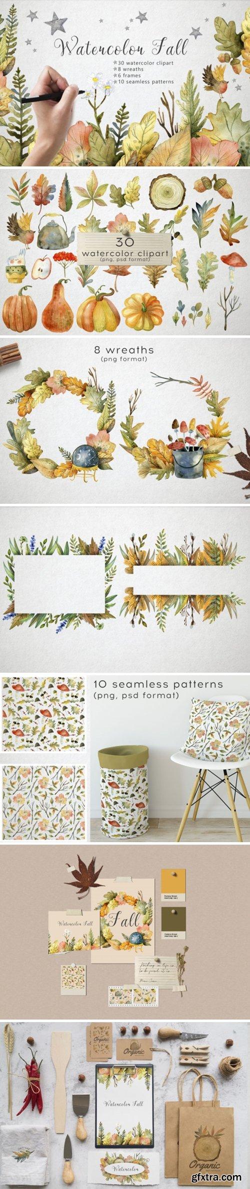 Hello Autumn - Watercolor Collection 5612986