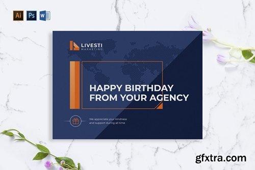 Marketing Agency Greeting Card