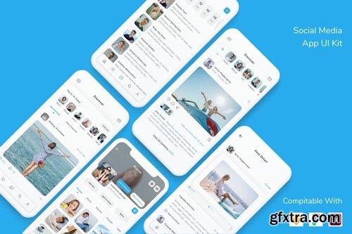 Social Media App UI Kit