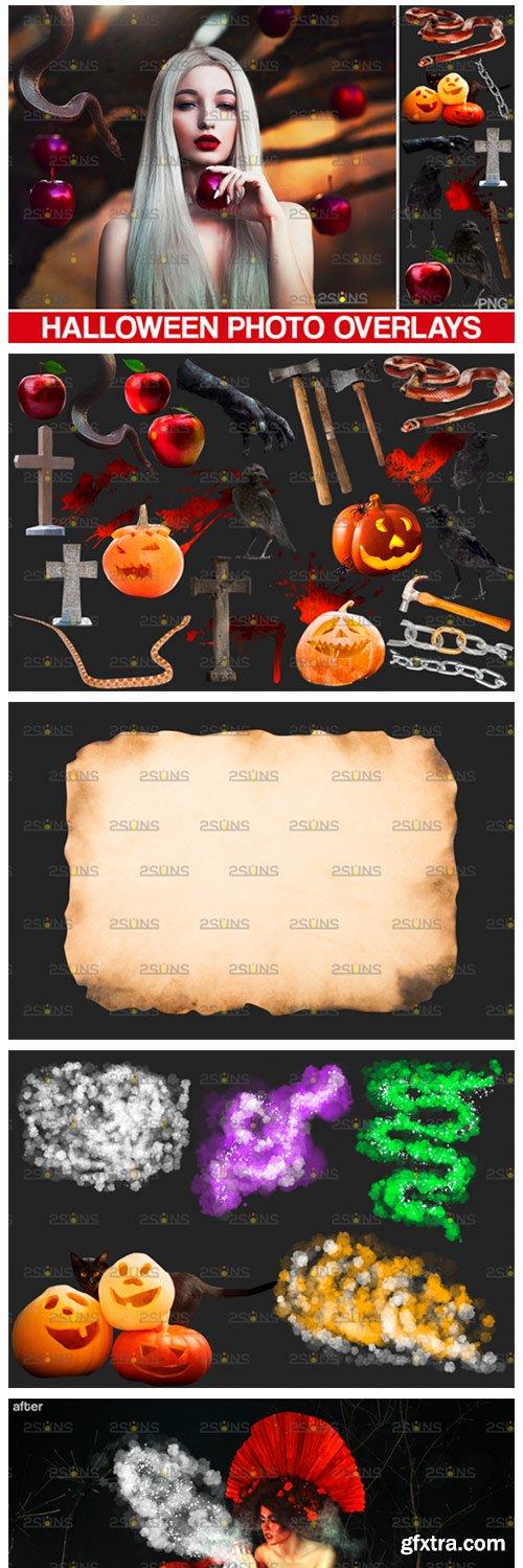 Halloween Clipart Halloween Overlays 5573161