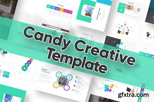 Candy Powerpoint Template