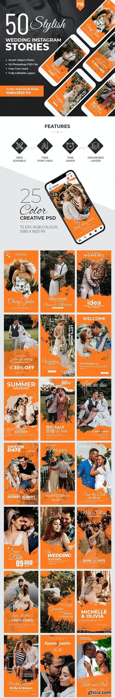 GraphicRiver - Instagram Wedding Stories Banners 28427215