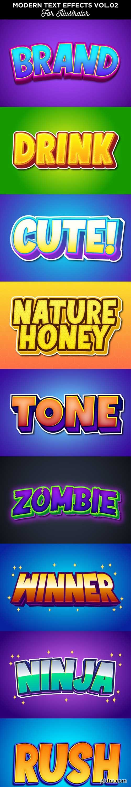 GraphicRiver - Cartoon Text Effect for Illustrator 28406677
