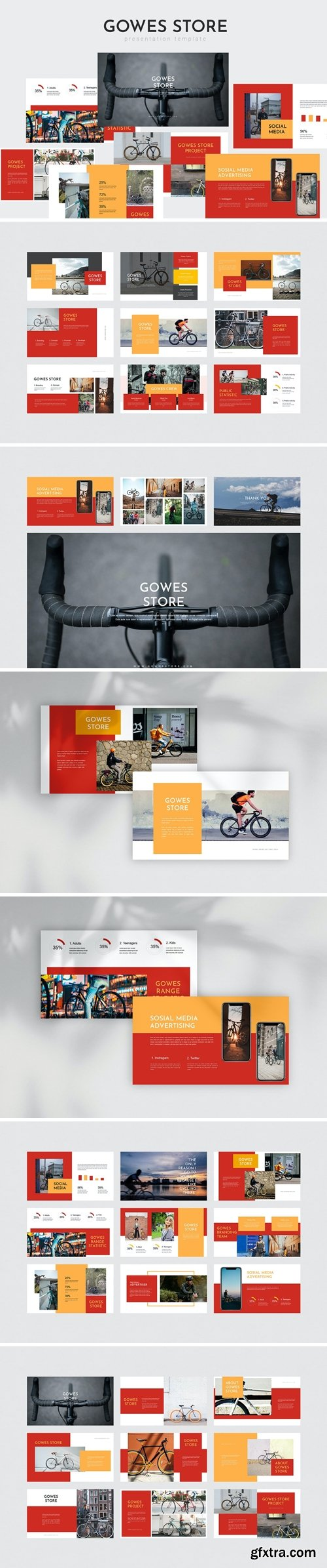 Gowes Store - Powerpoint Template