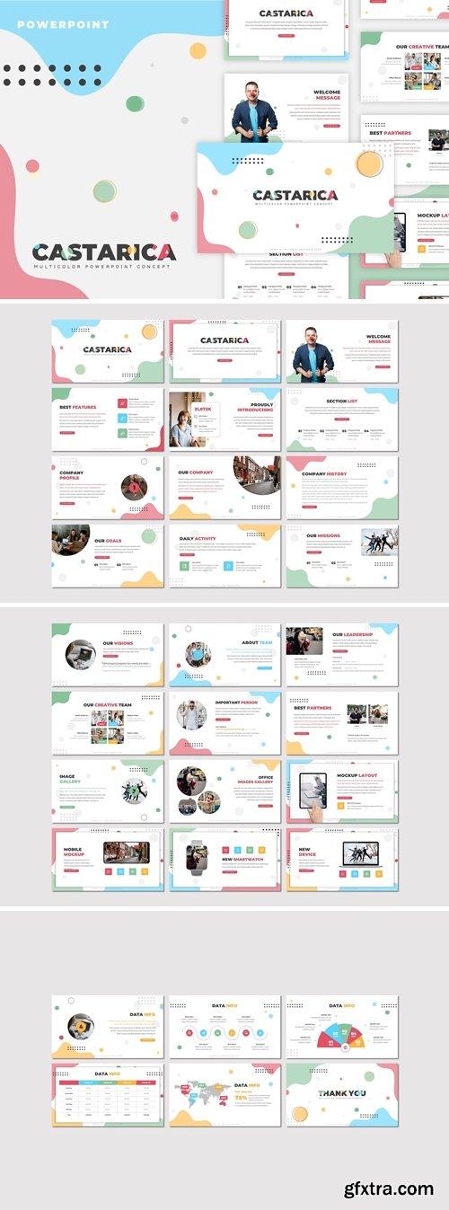 Castarica - Creative Powerpoint Template
