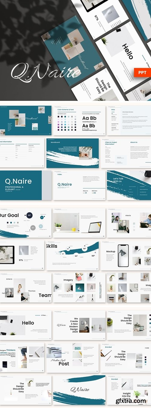 Qinaire - Powerpoint Template