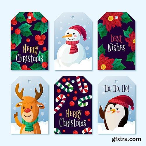 Label Collection Christmas Theme