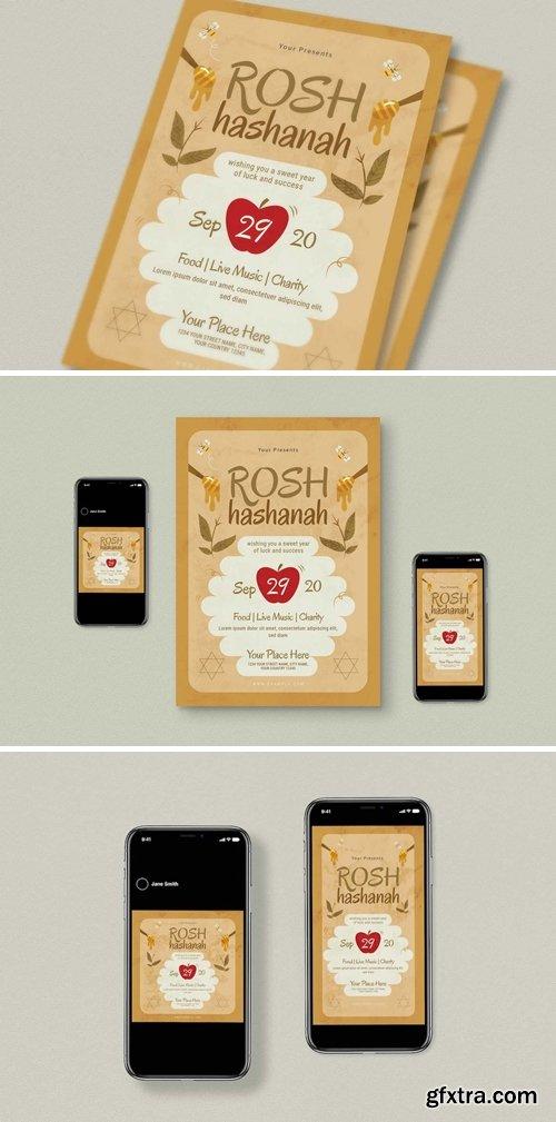 Rosh Hasanah Flyer Set
