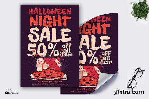 Halloween Night Sale - Poster GR