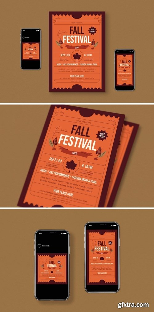 Fall Flyer Set