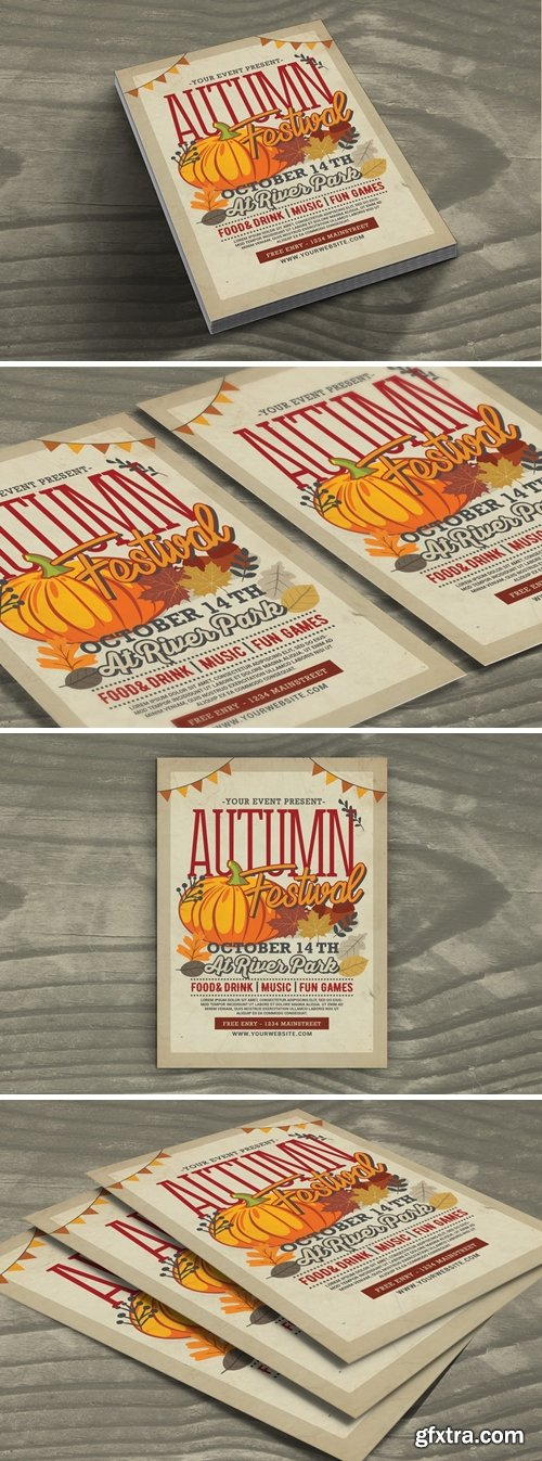 Autumn Festival Flyer