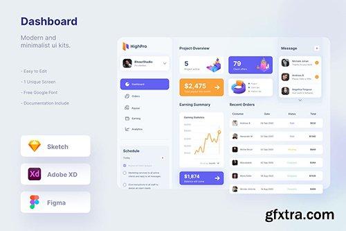 Mytemp - Dashboard Ui Kits