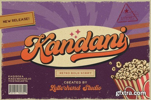 CM - Kandani - Retro Bold Script 5365974