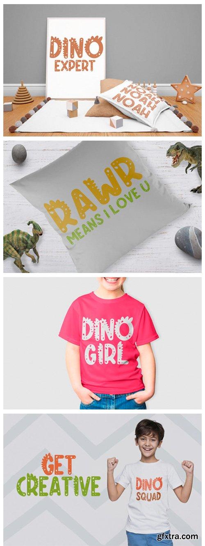 Dino Rush Font