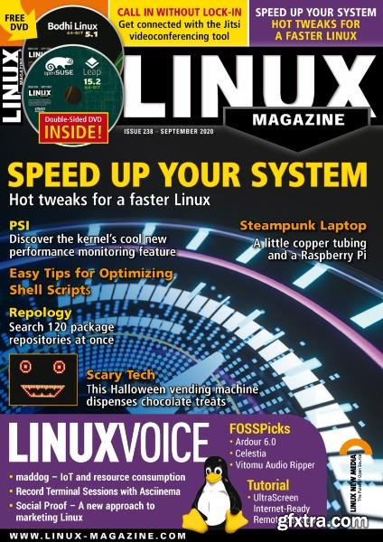 Linux Magazine USA - September 2020