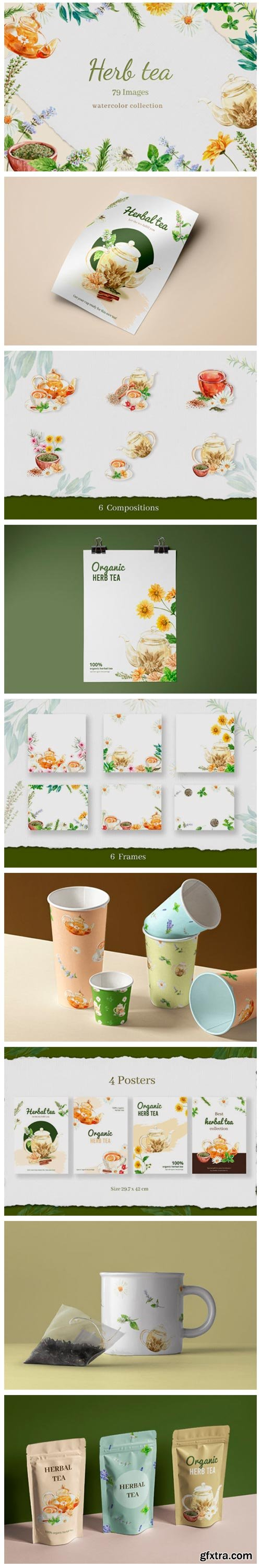 Tea Time with Herbal Tea for Health 5637177