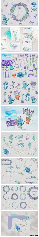 LAVENDER Floral Set 5621256
