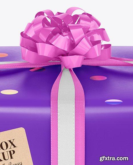 Giftbox Mockup 67644