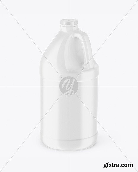 Plastic Jerrycan Mockup 66979