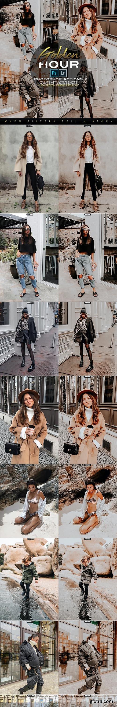 GraphicRiver - Golden Hour Photoshop Actions + LR Presets 28144667