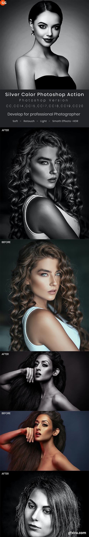 GraphicRiver - Silver Color Photoshop Action 28136725