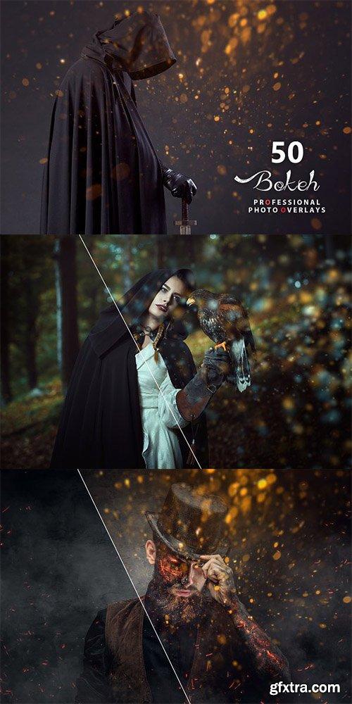 50 Halloween Bokeh Photo Overlays
