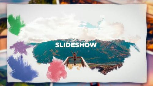 Videohive - Ink Photo Slideshow