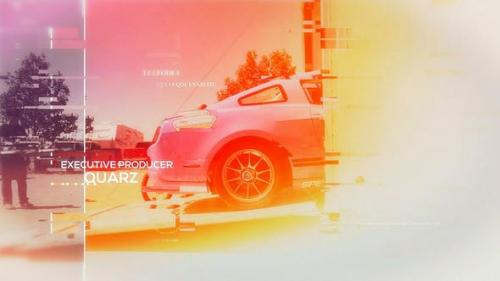 Videohive - Glitch Media Reel