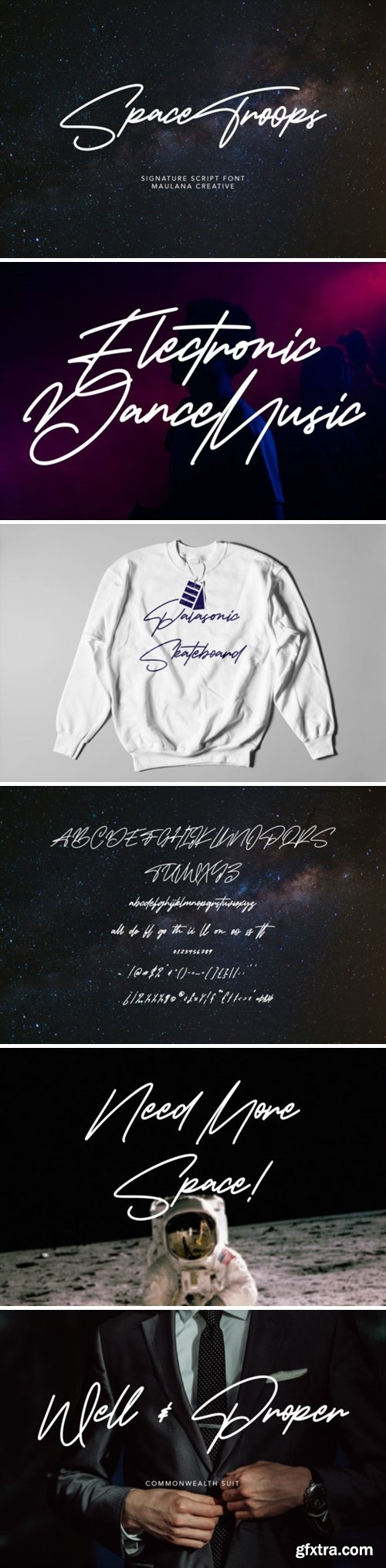 Space Troops Font