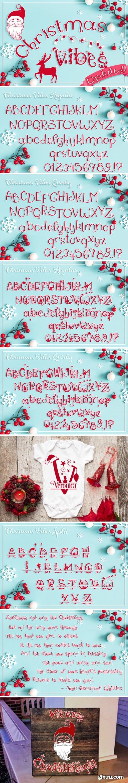 Christmas Vibes Font