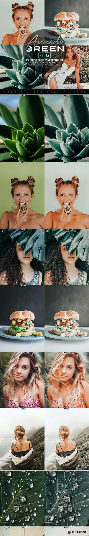 GraphicRiver - Avocado Green Photoshop Actions + LR Presets 28194591