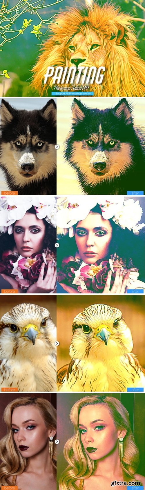Painting Photoshop Action V10 5735094