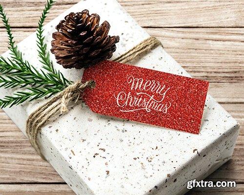 Christmas holiday greeting design mockup 516364
