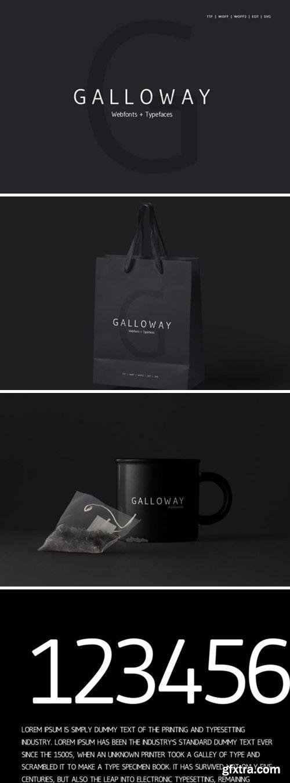 Galloway Font
