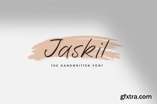 Jaskil - The Handwritten Font
